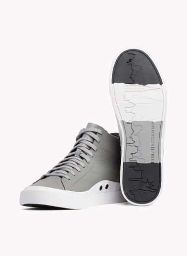 Tommy Hilfiger Klasik Ayakkabı Gri